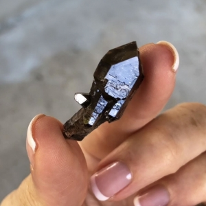 Black Herkimer Scepter