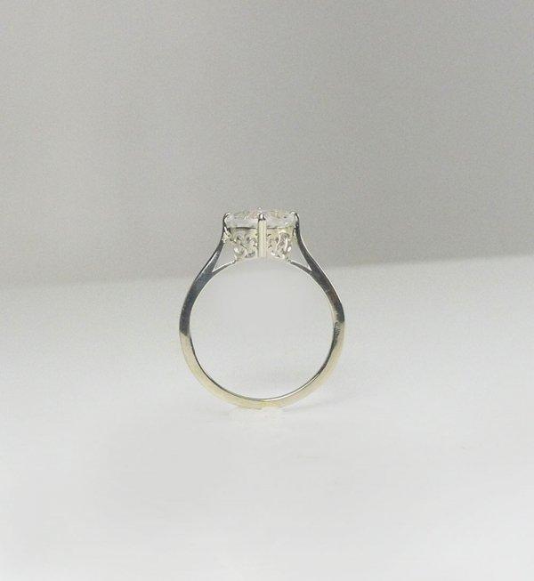 Herkimer heart ring