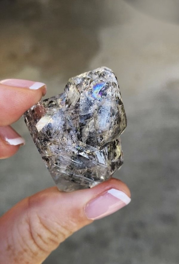 Double Terminated Herkimer Crystal