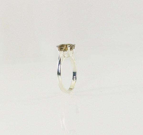 Smoky Herkimer Octagon Ring