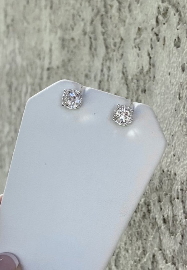 AAA Herkimer Earrings
