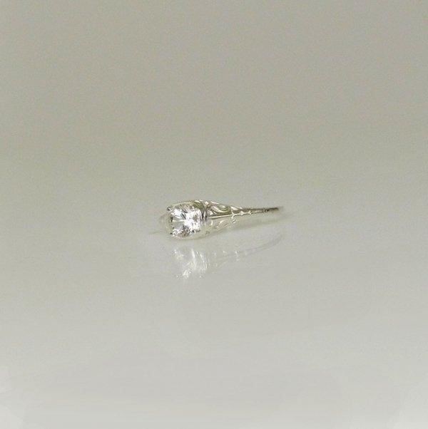 Petite filigree ring