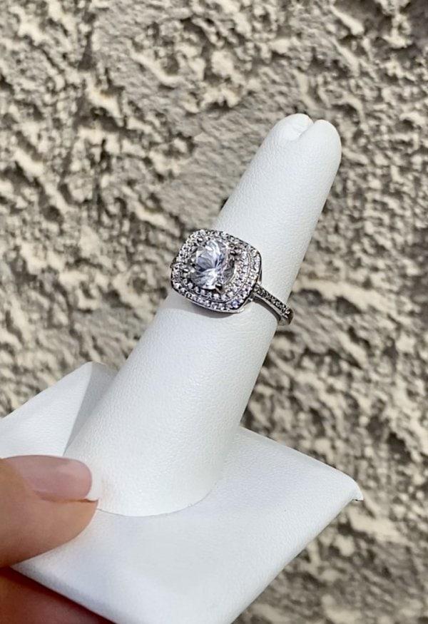 Split band herkimer ring