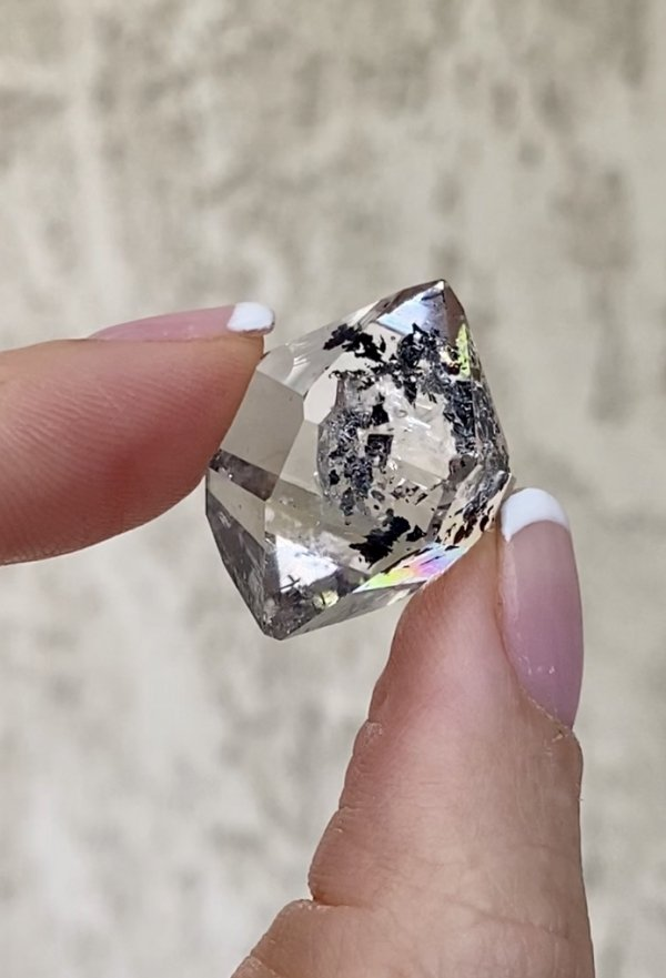 Herkimer Crystal Jewelry Point