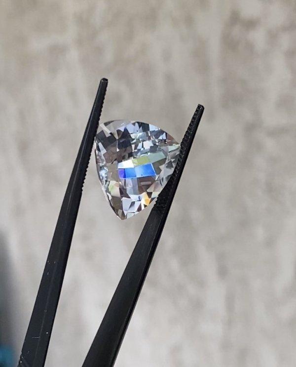 Fancy Cut Trillion Herkimer Diamond