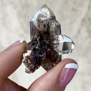 Unique herkimer cluster