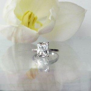 Herkimer Scissor Cut Ring