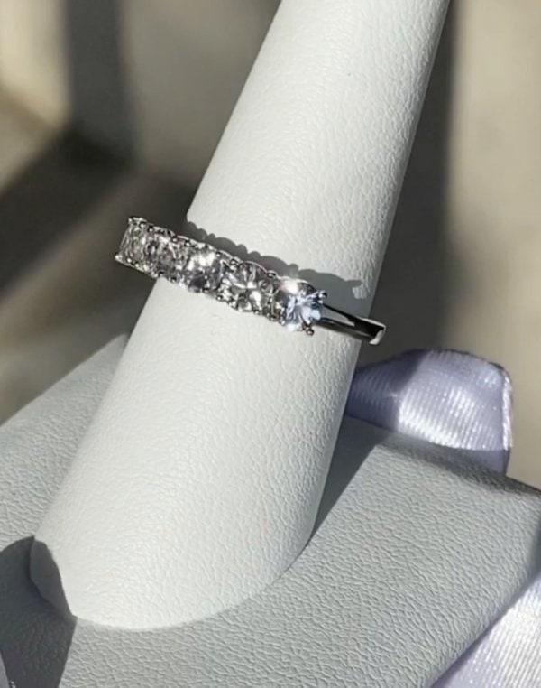 Herkimer Anniversary Ring