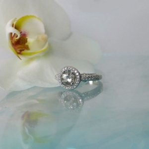 Herkimer halo ring