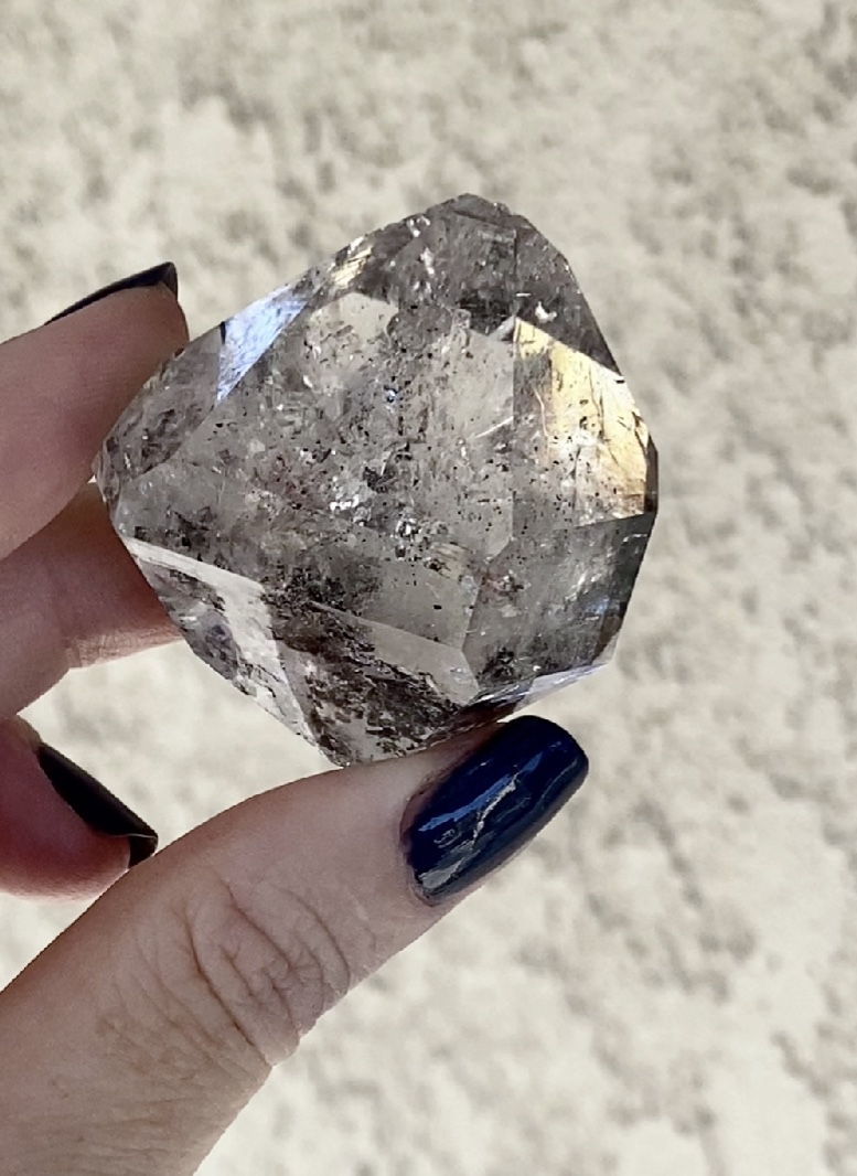 Clear Double Terminated Herkimer