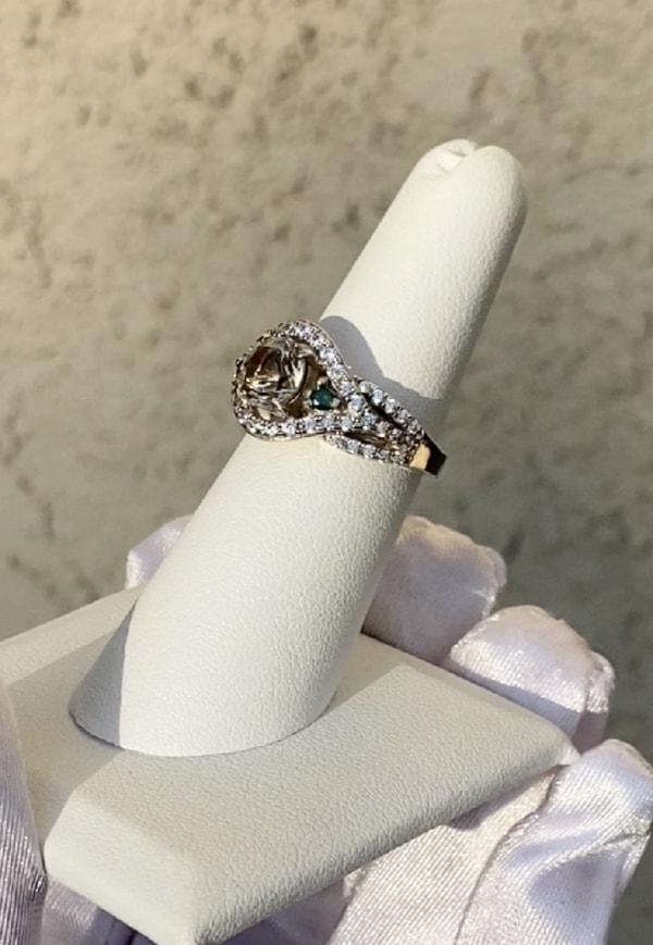 Herkimer Green Diamond