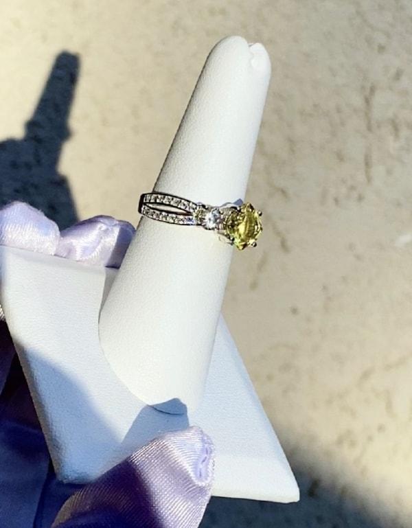 Beryl Herkimer Ring