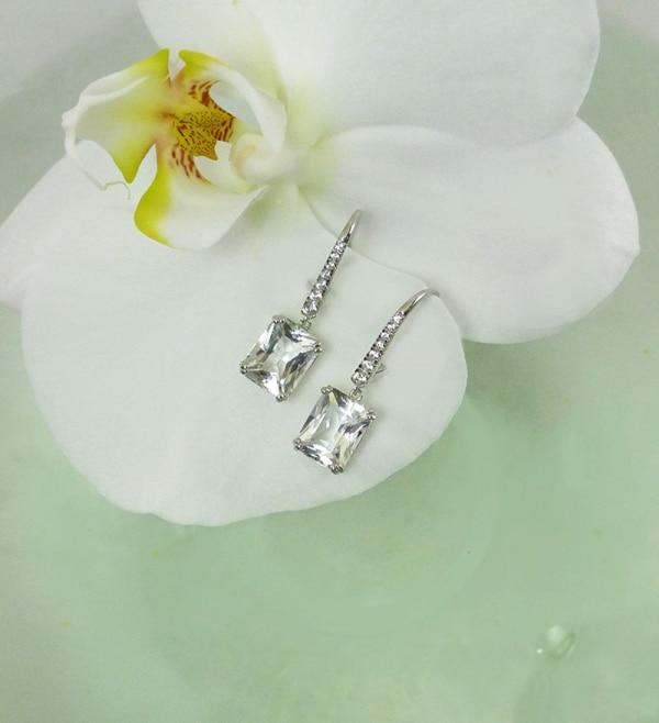 Herkimer Dangle Earrings