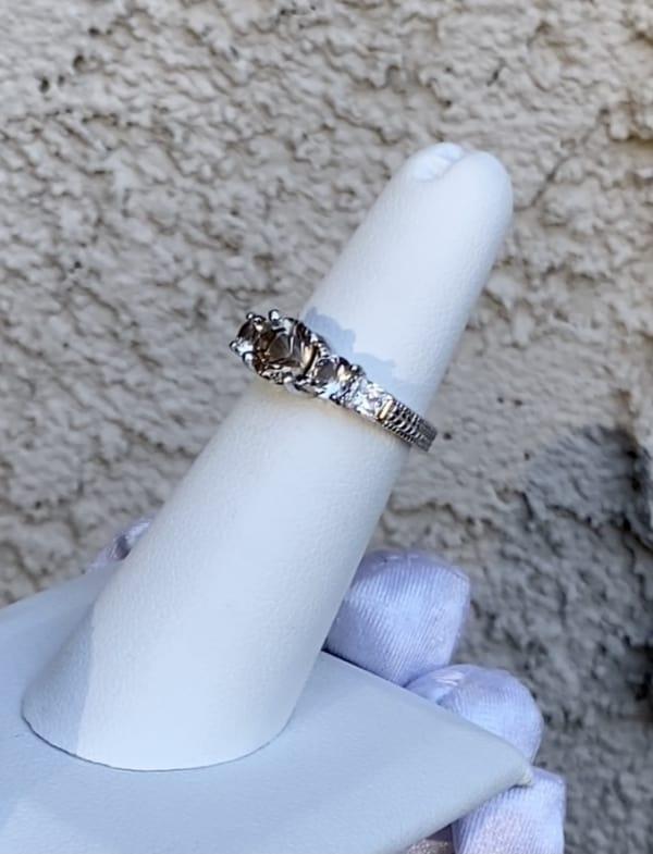 Natural Engagement Ring
