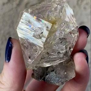 Herkimer Matrix Crystal