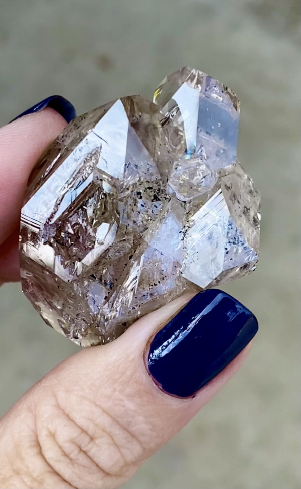 Skeletal Cluster Herkimer Diamond