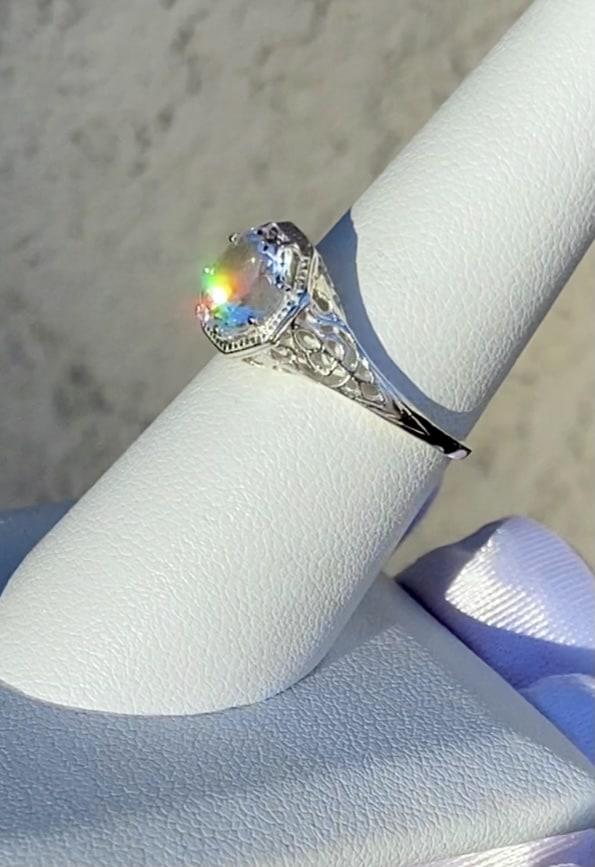 Art Deco Filigree Ring