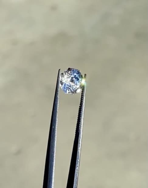 Herkimer octagon loose gem