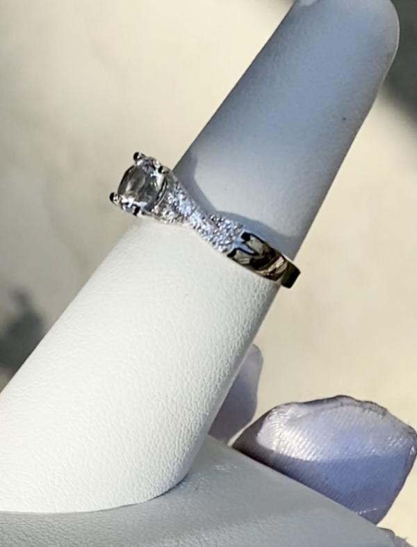 Herkimer Twist Ring