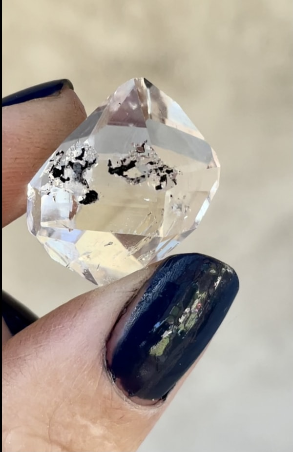 Beautiful Herkimer Jewelry Point