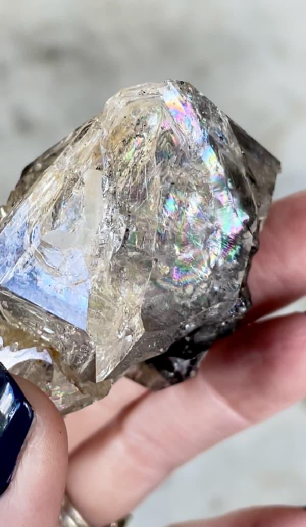 Skeletal Herkimer Calcite Crystal
