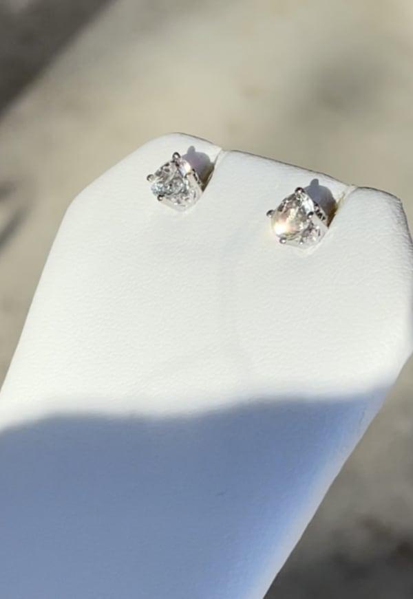 Herkimer AAA Stud Earrings