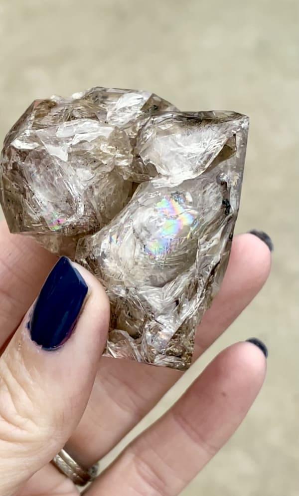 Natural Skeletal Herkimer Crystal