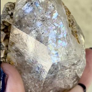 Herkimer dolomite crystal