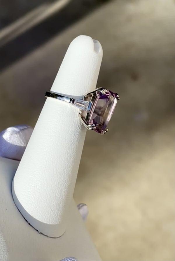 Rare Maine Amethyst Ring