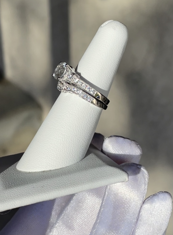 AAA Herkimer Wedding Set
