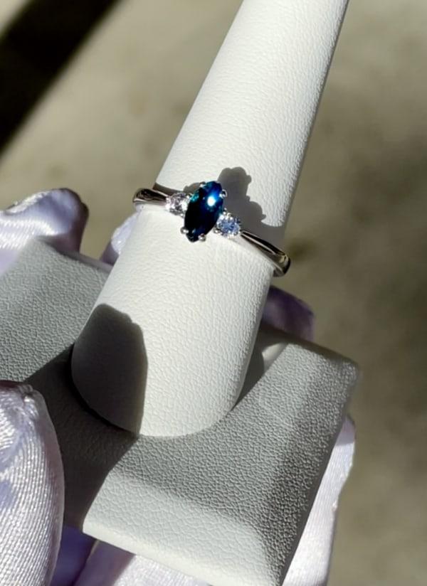 Marquise Tourmaline Ring