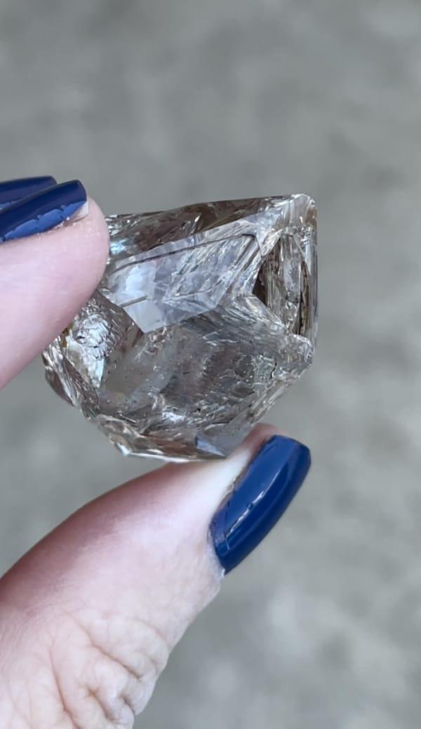 Small skeletal crystal