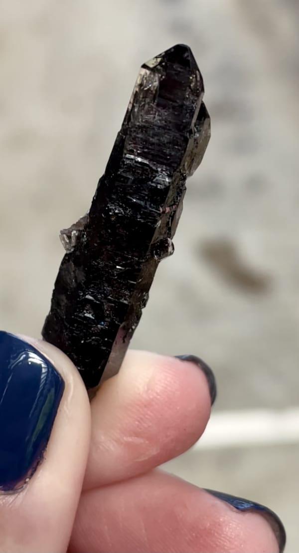 Long Black Herkimer Point