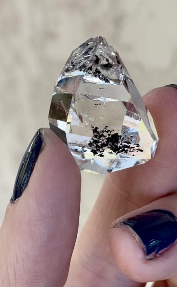 Herkimer Diamond Jewelry Point