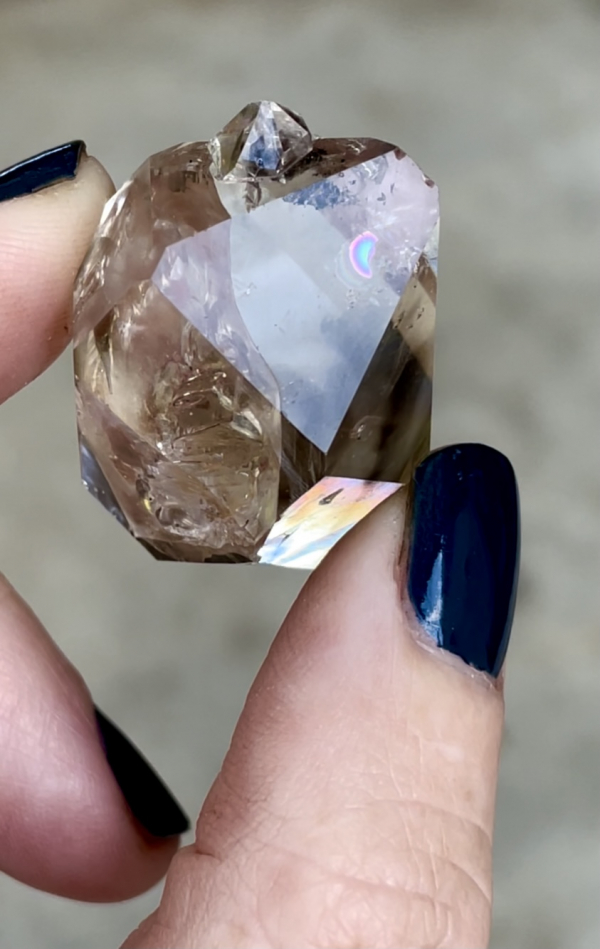 Enhydro Herkimer Jewelry Point