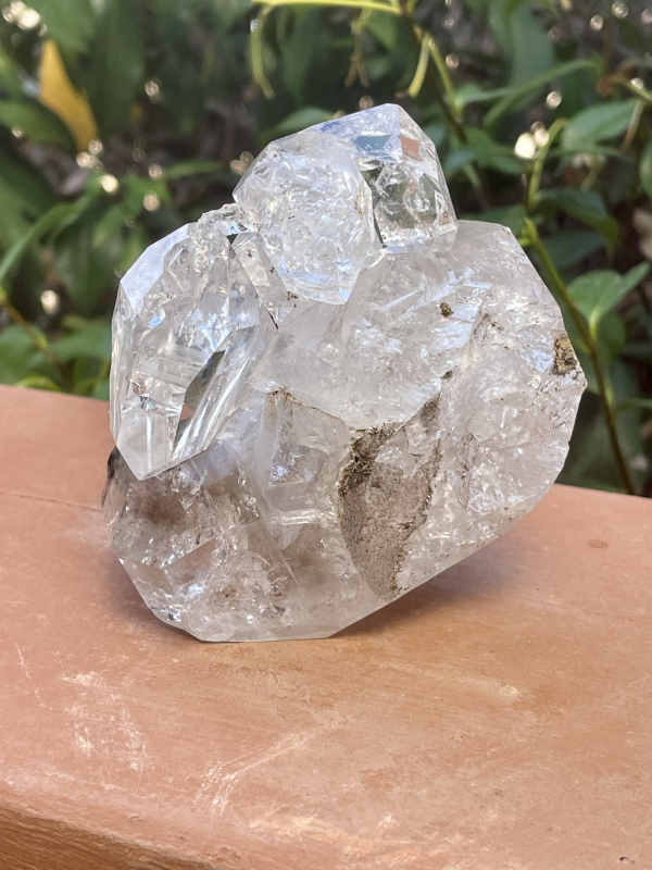 Clear Herkimer Diamond Cluster