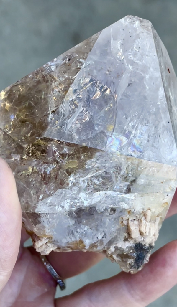 Large Herkimer Dolomite Crystal