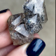 Parallel growth herkimer cluster