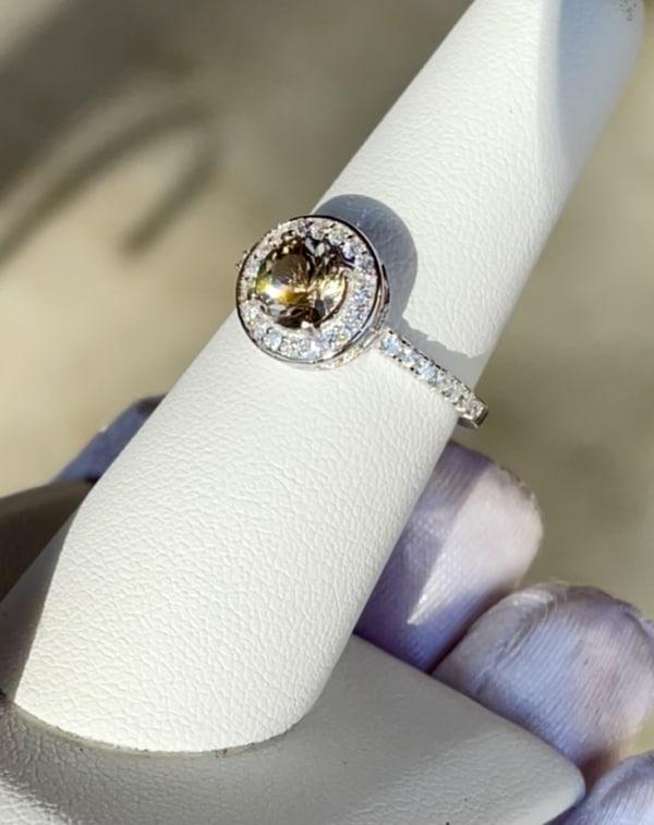Herkimer Champagne Ring