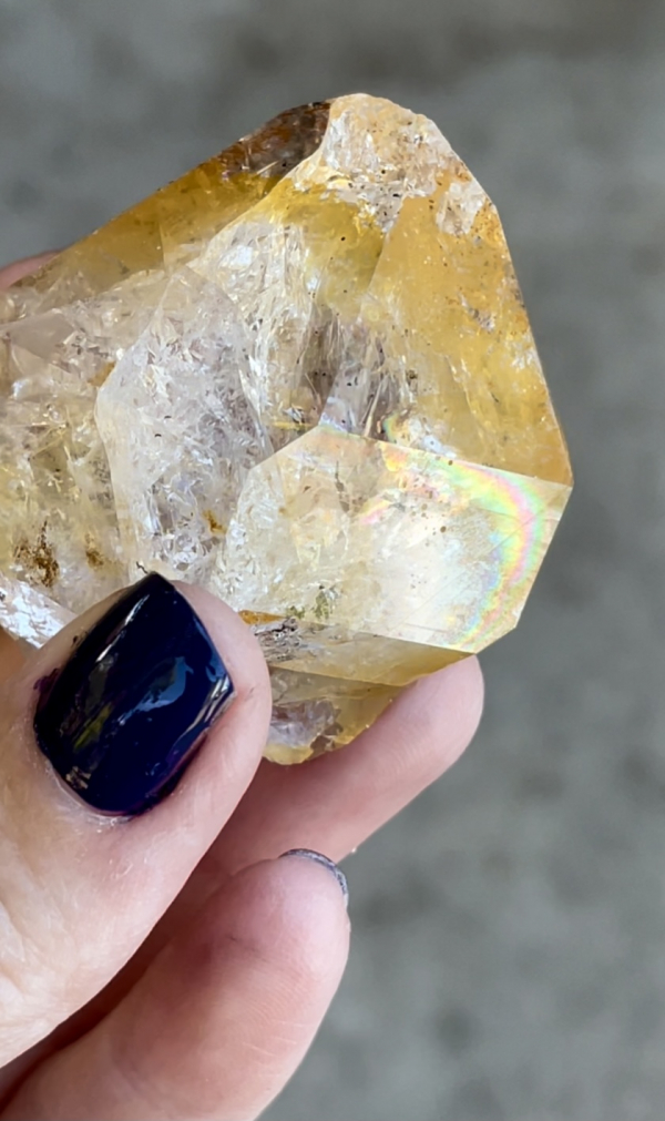 Pretty rainbow golden healer