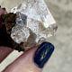 Herkimer hematite crystal