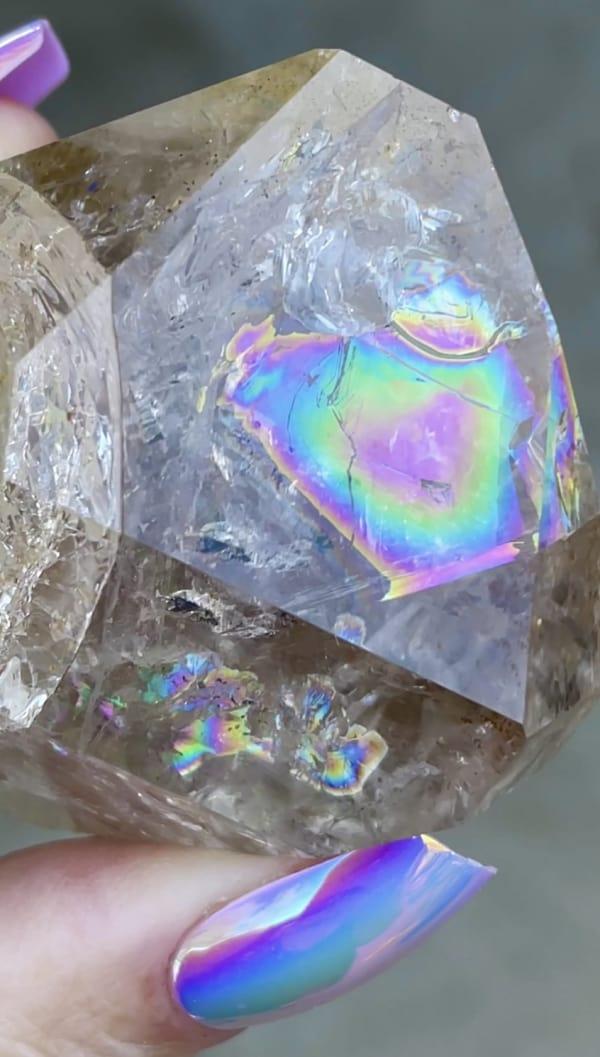 Rainbow Clear Herkimer