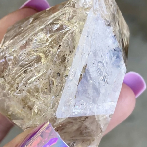 Herkimer crystal point